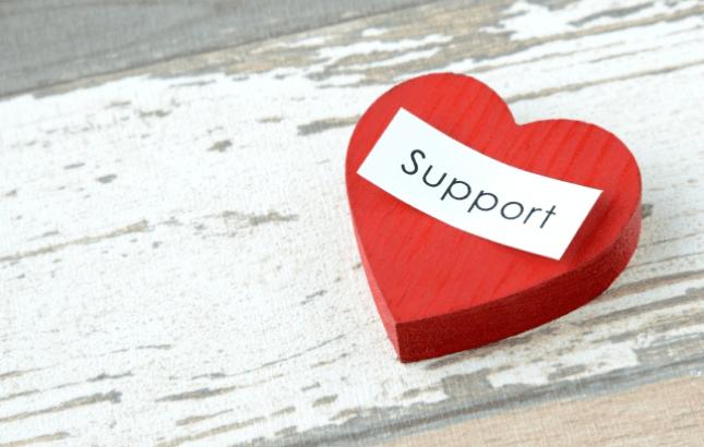 サポートのイメージ
